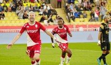 موناكو يحقق الفوز بثلاثية امام مونبيلييه
