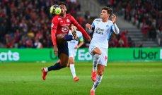 الدوري الفرنسي: فوز ثمين لليل على مارسيليا
