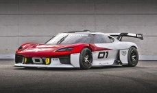 المانيا تستعرض سيارة رالي كهربائية خلال معرض ميونيخ
