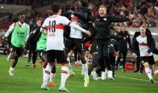 الدوري الألماني: بوخوم يهزم  آينتراخت فرانكفورت وتعادل قاتل لشتوتغارت أمام بونيون برلين