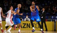 اليوروليغ: برشلونة يحسم مباراته امام أوليمبياكوس بعد وقت اضافي