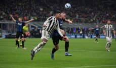 الكالتشيو: التعادل الايجابي يحسم ديربي ايطاليا بين الغريمين انتر ميلانو ويوفنتوس