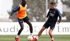 ريال مدريد يواصل استعداداته لمواجهة اسبانيول