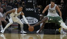 NBA: ميلووكي باكس يعود الى سكة الانتصارات بفوز على سان انتونيو