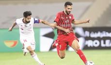 الدوري الاماراتي: الشارقة يحسم لقاء القمة امام الجزيرة وفوز النصر