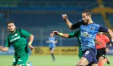 الدوري المصري: بيراميدز يتخطى المقاصة بصعوبة