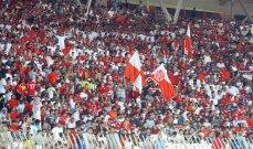 دخول مجاني للجماهير في مباراة المحرق البحريني والعهد اللبناني