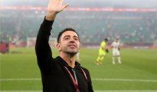 تشافي : لقب كأس الامير دافع لاحراز المزيد من البطولات