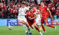 حالة تحكيمية غريبة في مباراة الدنمارك وروسيا وهدف الارجنتين سليم