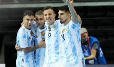 مونديال الصالات: الارجنتين تتخطى البرازيل وتبلغ النهائي