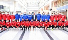 بعثة المنتخب الأولمبي تغادر الى طاجيكستان