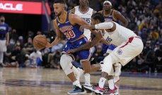 NBA: سقوط مدوي للباكس امام الهيت وفوز ثاني للواريرز