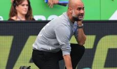 غوارديولا: مباراة صعبة وفوز مميز امام ليستر سيتي