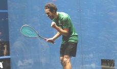 نهائي مصري خالص في بطولة أميركا المفتوحة للاسكواش