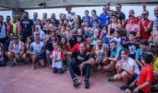 بطولة لبنان في الترياتلون : لقب الرجال لعلي الزعبي والسيدات لليندزي ناضر