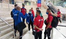 منتخب لبنان الاولمبي يصل الى الدمام