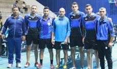 نتائج بطولة لبنان لكرة الطاولة لفرق الرجال للدرجة أولى