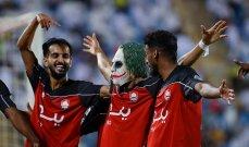 الدوري السعودي: فوز مثير للرائد على التعاون وتعادل ضمك والشباب