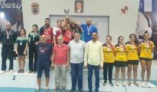 كرة الطاولة: الأنترانيك بطل لبنان لفرق السيّدات