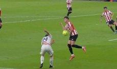 حكم الفيديو اخطأ في مباراة الريال وانصف اوساسونا ضد اتلتيكو