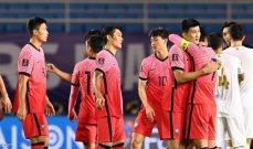 أحداث مباراة كوريا الجنوبية وسوريا