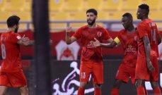 دوري نجوم قطر: الدحيل يتخطى الريان بمشاركة جايمس رودريغيز