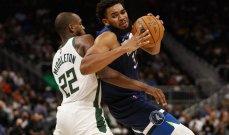NBA: سقوط ثاني لميلووكي وثالث لليكرز في الموسم الجديد