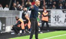 مدرب انجيه غاضب بعد الخسارة أمام باريس سان جيرمان