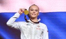 بطولة الجمباز الفني: الروسية ميلنيكوفا تتوّج بالذهبية