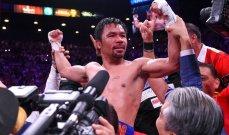 باكياو يؤكد اعتزاله الملاكمة