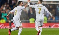 هازارد وكارفخال ضمن قائمة ريال مدريد للكلاسيكو