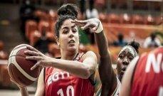 بطولة افريقيا للسلة: سيدات مصر يحققن فوزاً كبيراً على سيدات تونس