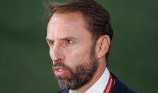 ساوثغايت: المنتخب الإنكليزي قد يتغير بحلول كأس العالم