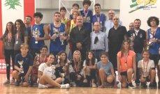 اتحاد الكرة الطائرة وزّع الكؤوس والميداليات على الفائزين ببطولات الفئات العمرية