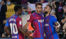 موجز الصباح: برشلونة ينتفض امام فالنسيا، فوز صعب لليوفي على روما، رباعية لمارسيليا وبادوسا بطلة انديان ويلز