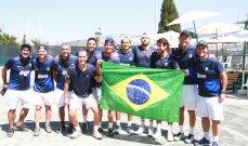 مسابقة كأس ديفيس.. البرازيل تحسم مواجهتها مع لبنان