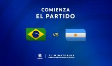 رسميا تعليق مباراة الارجنتين والبرازيل