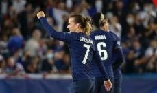 غريزمان يتألق مع فرنسا وعينه على لقب الهداف التاريخي