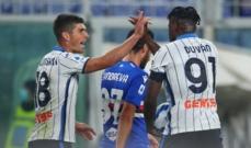 الدوري الايطالي: سقوط يوفنتوس امام ساسولو وفوز اتالانتا