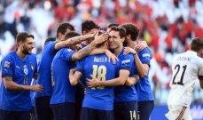 دوري الأمم الأوروبية: إيطاليا تتخطى بلجيكا في تورينو وتحصد المركز الثالث