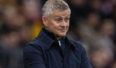 مانشستر يونايتد لا يفكر في اقالة سولسكاير