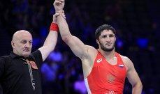 الروسي سادولاييف يتوج بطلا للعالم في المصارعة الرومانية