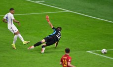 اخطاء وقع فيها حارسا فرنسا واسبانيا في نهائي دوري الأمم الاوروبية
