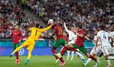 اين اخطأ حكم مباراة فرنسا والبرتغال؟