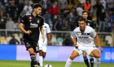 الدوري التركي: التاي يهزم بشكتاش ويتصدر ترتيب البطولة