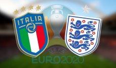يورو 2020: تعرف على تاريخ المواجهات بين ايطاليا وإنكلترا