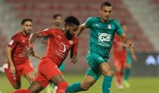 الدوري القطري: الاهلي يكتفي بالتعادل امام العربي