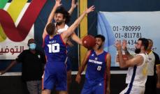 سلة لبنان: فوز بشق الانفس للرياضي على انترانيك