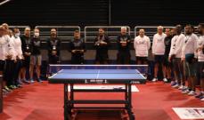افتتاح بطولة عادل حكيم الدولية في كرة الطاولة
