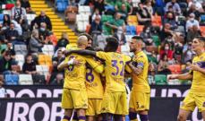 الدوري الايطالي: فيورنتينا يستعيد نغمة الانتصارات، فوز ساسولو وسقوط بولونيا